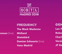 El ya famoso festival DGTL se estrena en Madrid el próximo mes de Diciembre