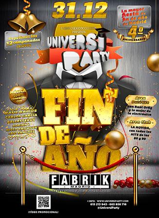 Universi Party Año Nuevo