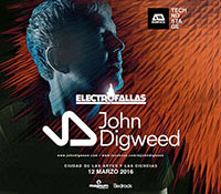 John Digweed, Paul Ritch y Nick Curly Nuevas Confirmaciones para Electrofallas 2016