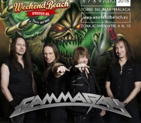 Gamma Ray celebrará sus 25 años de heavy metal en Weekend Beach Festival Torre del Mar