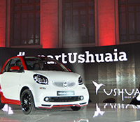 Se presenta en Madrid el Smart Fortwo Ushuaïa Limited Edition 2016