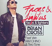 "BRIAN CROSS PRESENTA SU NUEVO TEMA ""FACES & LIGHTERS"""