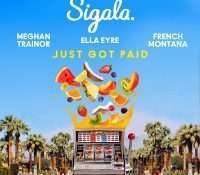 Candidato 15. ▽ Sigala + Ella Eyre + Meghan Trainor + French Montana = Just Got Paid