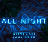 Candidato 24. ▽ Steve Aoki + Lauren Jauregui = All Night