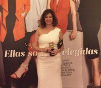 """Ana Rosa Quintana recibe el premio  """"Mujerhoy"""""""