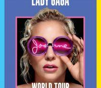 "LADY GAGA ANUNCIA SU NUEVA GIRA ""JOANNE WORLD TOUR"""