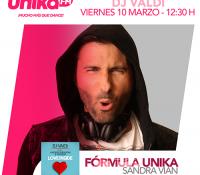DJ VALDI PRESENTA 'LOVE INSIDE' EN UNIKA FM