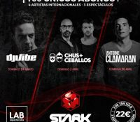 DJ VIBE, CHUS + CEBALLOS Y ANTOINE CLAMARAN ESTARÁN EN STARK SENSATIONS