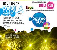¡SPUME RUN PARLA!Primera carrera con espuma de colores de la Comunidad de Madrid.