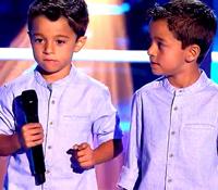 """""""La voz Kids"""" desmiente  el rumor sobre el accidente de los gemelos"""