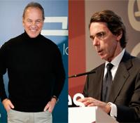 Bertín Osborne entrevistará mañana a José María Aznar, en 'Mi casa es la tuya'