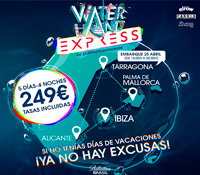 WATERLAN EXPRESS, EL PRIMER FESTIVAL EN ALTAMAR