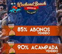 Weekend Beach Festival vende el 85% de sus abonos a dos meses de su celebración