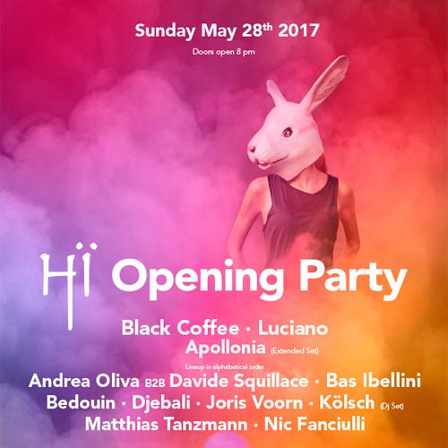 Hï Ibiza anuncia el cartel de su Opening Party