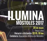 La carrera más luminosa llega a Móstoles el próximo 20 de mayo