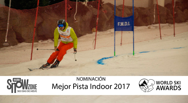 La pista de Madrid Snowzone, nominada a Mejor Pista Indoor en los World Ski Awards