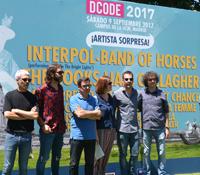 Así fue la rueda de prensa del último festival del verano, DCODE 2017