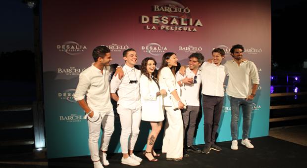 Ron Barceló celebra el estreno de su primer corto rodado en Desalia por Ernesto Sevilla