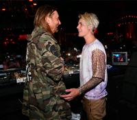 Justin Bieber anuncia una colaboración junto a David Guetta.