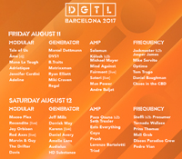 DGTL Barcelona cierra el cartel para los próximos 11 y 12 de Agosto