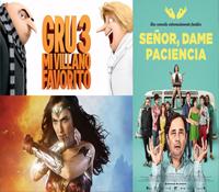 ¡Taquillazos! Las películas más vistas este fin de semana