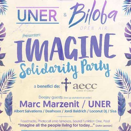 El Dj Uner y el club catalán Biloba se unen a la fiesta solidaria Imagine