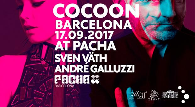 SVEN VÄTH llega a Pachá Barcelona el domingo 17 de septiembre