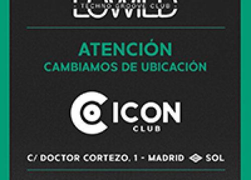 LOWILD Techno Groove Club en ICON CLUB