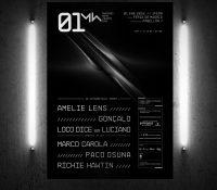 01 New year´s day: presenta un cartel Premium con la aparición de Amelie Lens