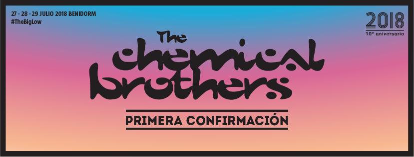 The Chemical Brothers, primera confirmación del Low Festival 2018