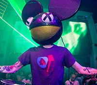 El terrible susto de Deadmau5