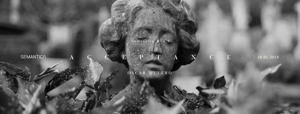"""""""ACCEPTANCE"""" ES EL NUEVO EP DE ÓSCAR MULERO"""