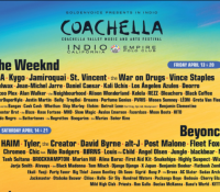 Confirmado el Line-up de Coachella 2018