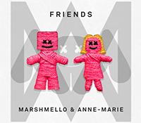 """Marshmello y Anne-Marie, los nuevos """"FRIENDS"""" de la música"""