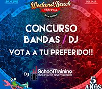 Weekend Beach Festival ofrece la oportunidad perfecta a bandas y Djs