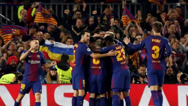 El Barcelona completa el pleno de españoles en cuartos de la Champions League tras vencer al Chelsea 3-0