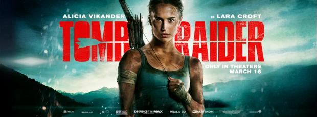 Tomb Raider encabeza la lista de estrenos este fin de semana