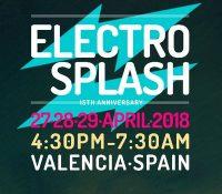 ElectroSplash sigue lanzando confirmaciones para su 15 aniversario