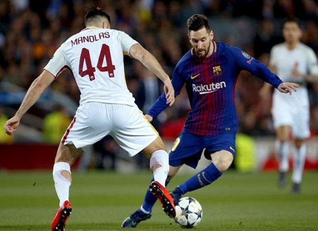 El Barcelona arrasa a la Roma y deja la eliminatoria sentenciada