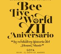 Beeliveworld hace 12 años, y lo celebra de una manera muy especial