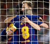 El Barcelona tiene en sus manos el pase a Semifinales