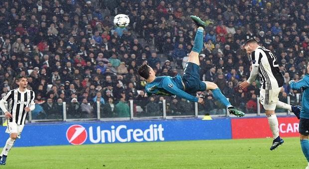 El Real Madrid le saca los colores a la Juventus