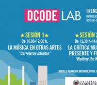 DCODE LAB 2018 CELEBRA SU TERCER ENCUENTRO DE MÚSICA Y COMUNICACIÓN