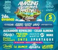Amazing Summer Festival cierra su Line-up