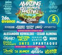 Amazing Summer Festival cierra su Line-up