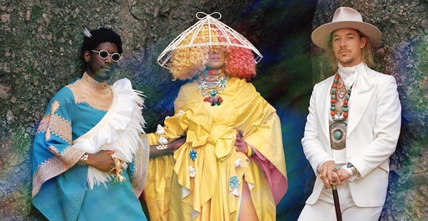 "LSD presentan su nuevo single ""Audio"""
