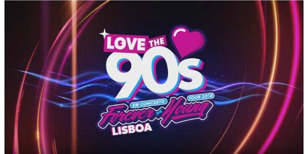 Love the 90´s sale por primera vez de España rumbo a Lisboa