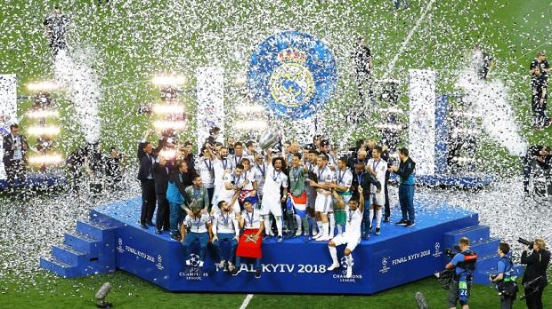 El Real Madrid conquista Europa por tercera vez consecutiva