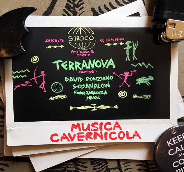 Terranova llega por primera vez a Madrid con Música Cavernícola