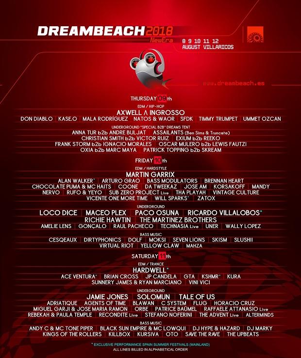 """""""Dreambeach"""" llega de gira a España"""